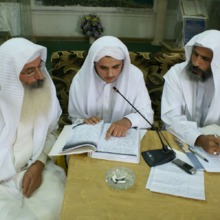 """<div style=""""text-align: center;"""">According to the General Constitution of the community (established in the 1990s), all candidates for priesthood need to undergo religious tests and obtain official endorsement of the General Assembly of the community. Shwalia Anmar has been through religious tests in reading, writing and understanding of ritual from other senior priests with social endorsement by the Community Council in Baghdad, comprising representatives from each big family in the community. Here, Rishamma Sattar and Tarmida Raad Al Zuhairi (who passed away in 2010) examine Shwalia Anmar during a special meeting of the general assembly in 2008. Shwalia Anmar passed, obtaining full recognition from both priests and representatives.&nbsp;</div>"""