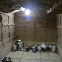 <span>In religious rituals and in everyday&nbsp;</span><span>life, </span><span>Mandaean&nbsp;</span><span>priests use only utensils purified&nbsp;</span><span>through baptism. They cannot be made from plastic. Only pure metal vessels can be used and purified. Mandaean priests take their own purified vessels when they travel and can not share their meals with others. </span><span></span>