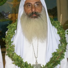"""<div style=""""text-align: center;"""">Shwalia Anmar's <em><strong>Rebi</strong></em> (spiritual master) is Rishamma Sattar Hilow. He will play a key role in the complex ritual of the ordination.</div>"""