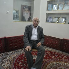<p>Mr Asaad Askari, one of the few Mandaeans who still speaks Mandaic. Born in Khorramshahr, he left the city during the Iraq-Iran war and lives mostly in Tehran. Mr Askari sings and writes poems in Mandaic. Mr Askari appears in some recordings in our archive, singing in Mandaic.</p>