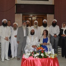<p>A betrothal - Ganzibra Salwan came from Sweden to be engaged to a Mandaean girl from Iran. According to Mandaean tradition, the Mandaean priest must marry a virgin girl from a <i>halali</i> family (i.e. ritually pure for seven generations). In October 2015 Tarmida Taleb performed the marriage ceremony (<i>Qabeen</i>) for Ganzibra Salwan and his fiancée and was elevated to <i>ganzibra</i> rank.</p>