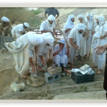 """<div style=""""text-align: center;"""">The priests have come from different parts of Iraq and gathered at the main Mandi (temple) of Baghdad to perform the initiation of Shwalia Anmar to the rank of <strong><em>Tarmida</em>&nbsp;</strong>(priest). The initiation begins on a Saturday, lasts a week and comprises many different types of ritual.</div>"""