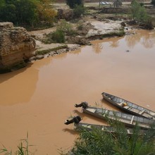 <span>This rock, located about two hours from Ahvaz in the town of </span><span>Shushtar</span><span>, features strongly in local </span><span>Mandaean&nbsp;</span><span>memory as the site of a massacre of </span><span>Mandaeans</span><span>, around two hundred years ago – the so-called '</span><span>Shushtar&nbsp;</span><span>massacre.'</span><span></span>